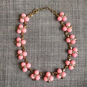 J Crew Matter Bubble Flower Statement Necklace